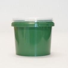 1L green pot